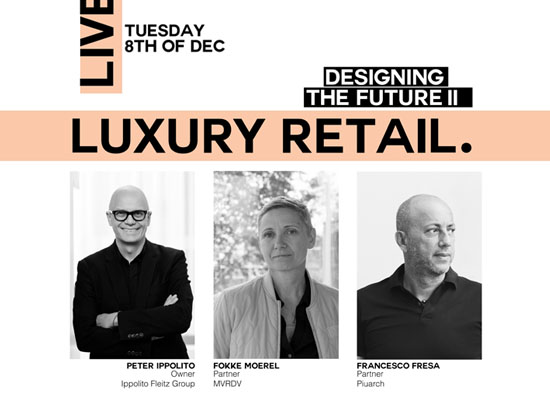 Architecture talk with MVRDV (NL), Piuarch (IT) and Ippolito Fleitz Group (DE)