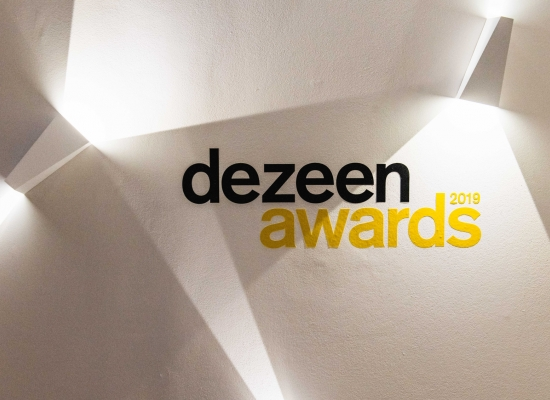 Dezeen Awards Shortlist Party in Delta Light Studio London